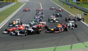 salida-gp-hungria-f1-2012