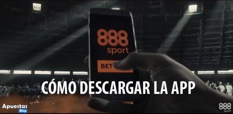 COMO DESCARGAR LA APP DE 888SPORT