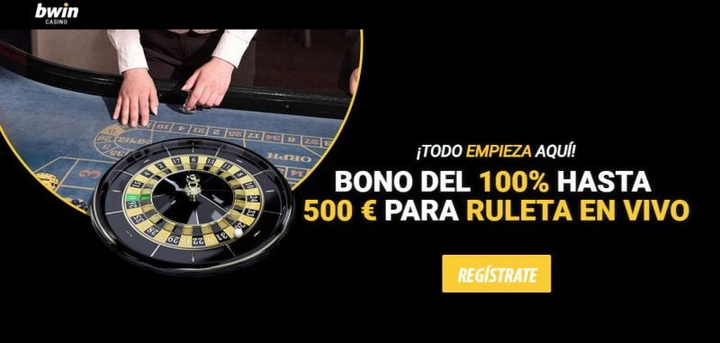 bwin casino bono ruleta en vivo